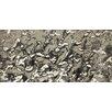 """Emser Tile Vista Arte 3"""" x 6"""" Glass Splitface Tile Silver and Gray"""