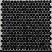Emser Tile Confetti Porcelain Pebble Tile in Black