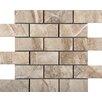 """Emser Tile Eurasia 2"""" x 4""""/13"""" x 13"""" Porcelain Tile in Cafe Mosaic"""