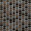 Emser Tile Confetti Porcelain Mosaic Tile in Gelido
