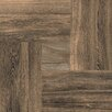 "Emser Tile Parquet 20"" x 20"" Porcelain Field Wood Look Tile in Oak Gloss"