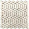 Emser Tile Calacata Oro 12 x 12 Marble Tile in Calacata Oro Hexagon Polished Mosaic