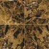 Emser Tile Marrone Emperador Dark 12 x 24 Marble Tile in Emperador Dark