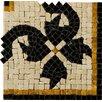 """Emser Tile Natural Stone 4"""" x 4"""" Honed Marble Gira Listello Corner"""