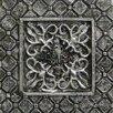 """Emser Tile Camelot 2"""" x 2"""" Igraine Dot in Silver"""