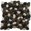 Emser Tile Rivera Random Sized Pebble Tile in Spring