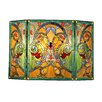 Chloe Lighting Victorian 3 Panel Myrtle Fireplace Screen