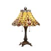 "Chloe Lighting Victorian 23.8"" H Table Lamp with Empirel Shade"