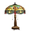 """Chloe Lighting Empress 21.1"""" H Table Lamp with Bowl Shade"""