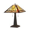 "Chloe Lighting Mission 22.53"" H Table Lamp with Empire Shade"