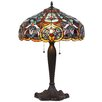 """Chloe Lighting Pixie 16"""" H Table Lamp with Bowl Shade"""