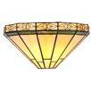 Chloe Lighting Mission Belle 1 Light Tiffany Wall Sconce