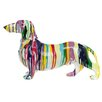 Interior Illusions Graffiti Dachshund Dog Figurine