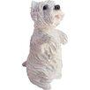 Sandicast Small Size Sitting Pretty West Highland Terrier Sculpture