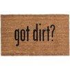 Coco Mats N More Got Dirt Doormat