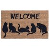 Coco Mats N More Cat's Tail Doormat