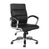 Offices To Go High-Back Luxhide Segmented Cushion Executive Chair