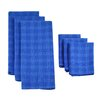 Design Imports 6 Piece Plaid Heavyweight Dishtowel and Dishcloth Set