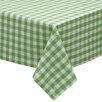 Design Imports Check Tablecloth