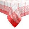 Design Imports Plaid Tablecloth