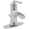 Premier Faucet Sanibel Single Handle Bathroom Sink Faucet with Optional Deck Plate