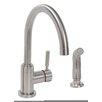 Premier Faucet Essen™ Single Handle Kitchen Faucet with Side Spray Optional Deck Plate