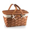 Picnic Time Prairie Picnic Basket with Lining