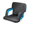 Picnic Time Waves Ventura Seat Portable Recliner Chair