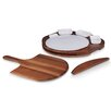 Picnic Time 6 Piece Pizza Preparation Station Set