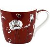 Könitz Porzellan GmbH White Poppy Mug (Set of 2)