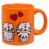 Könitz Porzellan GmbH Animals Fat Cat Mug (Set of 16)