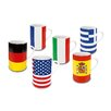 Könitz Porzellan GmbH Flags Mug Set (Set of 6)