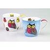 Könitz Porzellan GmbH Owls Mug Set (Set of 2)