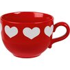 Könitz Porzellan GmbH Love Heart Jumbo Cup and Saucer Set (Set of 2)