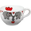 Könitz Porzellan GmbH Animals Elephant Love Jumbo Cup (Set of 4)