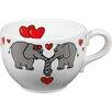 Könitz 4-tlg. Tasse Animals Elephant Love Jumbo