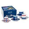 Könitz Porzellan GmbH Amalfi Espresso Cup Set (Set of 4)