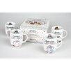 Könitz Porzellan GmbH Bakery Mug Set (Set of 4)