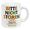 Waechtersbach Germany Bitte nicht stören Mug