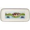 Villeroy & Boch 35 cm x 16 cm Kuchenplatte Charm & Breakfast Design Naif