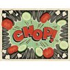 Joseph Joseph Work Top Saver Comic Chop Board