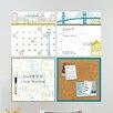 WallPops! Wall Art Kit Globe Trotter Organization Whiteboard Wall Decal