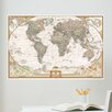 WallPops! Wall Art Kit National Geographic World Map Wall Mural