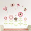 WallPops! Wall Art Kit Butterfly Garden Wall Decal