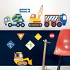 WallPops! Wall Art Kit Construction Zone Wall Decal