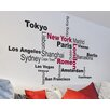 WallPops! Home Decor Line Favorite Cities Quote Wall Decal