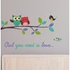 WallPops! Home Decor Line Owl You Need is Love Wall Decal