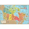 WallPops! WallPops Kids Canada Map Wall Mural
