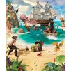 WallPops! Walltastic Wall Art Pirate and Treasure Adventure Wall Mural