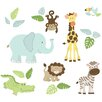WallPops! WallPops Safari Buddies Large Wall Decal
